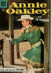 Cover Thumbnail for Annie Oakley and Tagg (Dell, 1955 series) #13