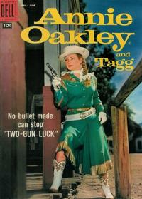 Cover Thumbnail for Annie Oakley and Tagg (Dell, 1955 series) #15