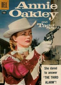 Cover Thumbnail for Annie Oakley and Tagg (Dell, 1955 series) #16