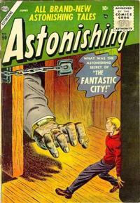 Cover Thumbnail for Astonishing (Marvel, 1951 series) #50