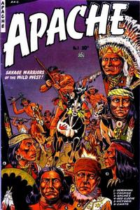 Cover Thumbnail for Apache (Fiction House, 1951 series) #1