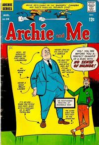 Cover Thumbnail for Archie and Me (Archie, 1964 series) #16