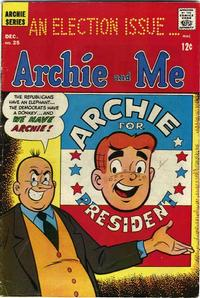 Cover Thumbnail for Archie and Me (Archie, 1964 series) #25