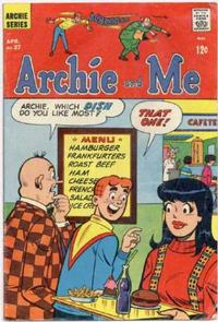 Cover Thumbnail for Archie and Me (Archie, 1964 series) #27