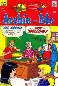 Cover Thumbnail for Archie and Me (Archie, 1964 series) #29