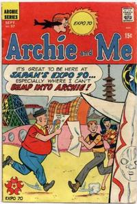 Cover Thumbnail for Archie and Me (Archie, 1964 series) #37