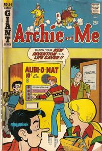 Cover Thumbnail for Archie and Me (Archie, 1964 series) #54