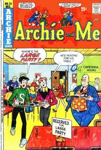 Cover Thumbnail for Archie and Me (Archie, 1964 series) #70