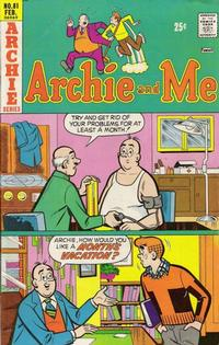 Cover Thumbnail for Archie and Me (Archie, 1964 series) #81