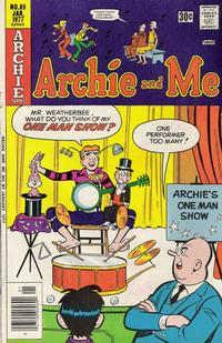 Cover Thumbnail for Archie and Me (Archie, 1964 series) #89
