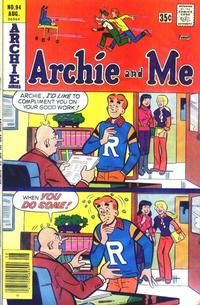 Cover Thumbnail for Archie and Me (Archie, 1964 series) #94