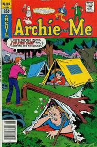 Cover Thumbnail for Archie and Me (Archie, 1964 series) #103