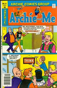 Cover Thumbnail for Archie and Me (Archie, 1964 series) #111