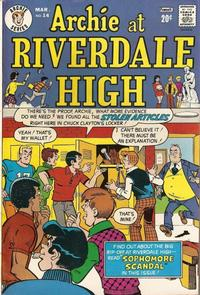 Cover Thumbnail for Archie at Riverdale High (Archie, 1972 series) #14