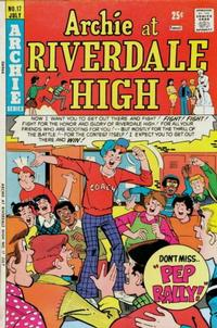 Cover Thumbnail for Archie at Riverdale High (Archie, 1972 series) #17