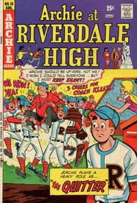 Cover Thumbnail for Archie at Riverdale High (Archie, 1972 series) #18