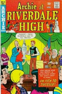 Cover Thumbnail for Archie at Riverdale High (Archie, 1972 series) #21