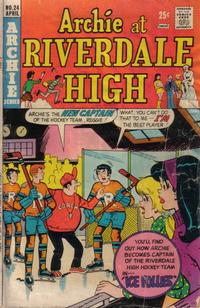 Cover Thumbnail for Archie at Riverdale High (Archie, 1972 series) #24