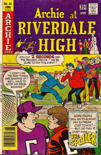 Cover Thumbnail for Archie at Riverdale High (Archie, 1972 series) #45