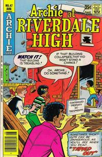 Cover Thumbnail for Archie at Riverdale High (Archie, 1972 series) #47