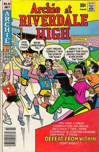 Cover Thumbnail for Archie at Riverdale High (Archie, 1972 series) #55