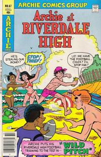 Cover Thumbnail for Archie at Riverdale High (Archie, 1972 series) #67