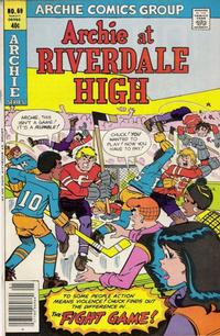 Cover for Archie at Riverdale High (Archie, 1972 series) #69
