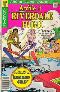 Cover Thumbnail for Archie at Riverdale High (Archie, 1972 series) #75
