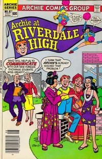 Cover Thumbnail for Archie at Riverdale High (Archie, 1972 series) #87