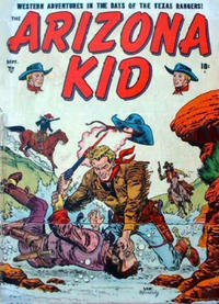 Cover Thumbnail for The Arizona Kid (Marvel, 1951 series) #4
