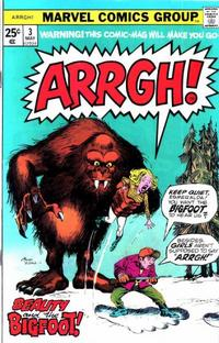 Cover Thumbnail for Arrgh! (Marvel, 1974 series) #3