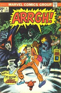 Cover Thumbnail for Arrgh! (Marvel, 1974 series) #4