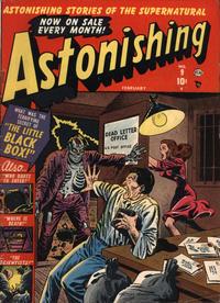 Cover Thumbnail for Astonishing (Marvel, 1951 series) #9