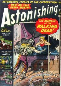 Cover Thumbnail for Astonishing (Marvel, 1951 series) #10