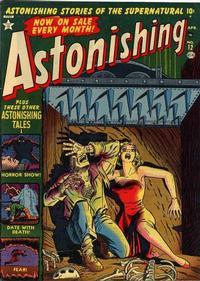 Cover Thumbnail for Astonishing (Marvel, 1951 series) #12
