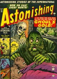 Cover Thumbnail for Astonishing (Marvel, 1951 series) #13