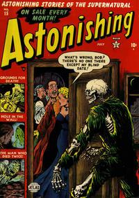 Cover Thumbnail for Astonishing (Marvel, 1951 series) #15