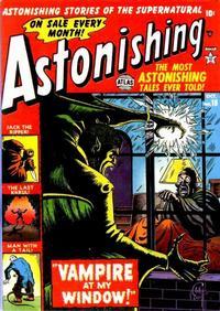 Cover Thumbnail for Astonishing (Marvel, 1951 series) #18