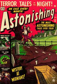 Cover Thumbnail for Astonishing (Marvel, 1951 series) #20