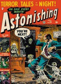 Cover Thumbnail for Astonishing (Marvel, 1951 series) #24