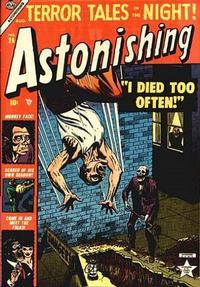 Cover Thumbnail for Astonishing (Marvel, 1951 series) #26