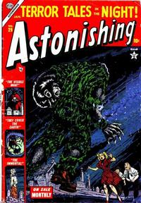 Cover Thumbnail for Astonishing (Marvel, 1951 series) #29