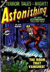 Cover Thumbnail for Astonishing (Marvel, 1951 series) #31