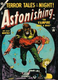 Cover for Astonishing (Marvel, 1951 series) #32