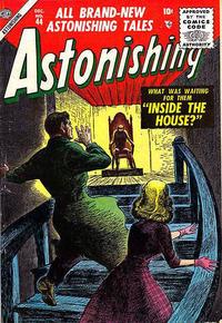 Cover Thumbnail for Astonishing (Marvel, 1951 series) #44