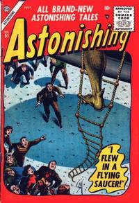 Cover for Astonishing (Marvel, 1951 series) #51