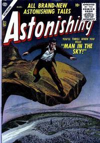 Cover Thumbnail for Astonishing (Marvel, 1951 series) #52