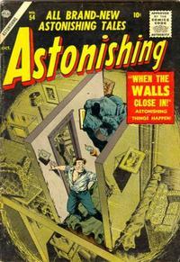 Cover Thumbnail for Astonishing (Marvel, 1951 series) #54