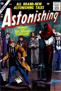 Cover Thumbnail for Astonishing (Marvel, 1951 series) #61