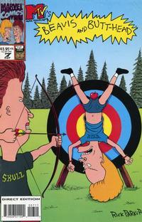 Cover for Beavis & Butt-Head (Marvel, 1994 series) #7